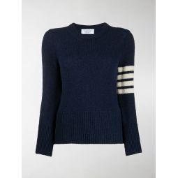 Thom Browne 4-Bar knitted jumper blue