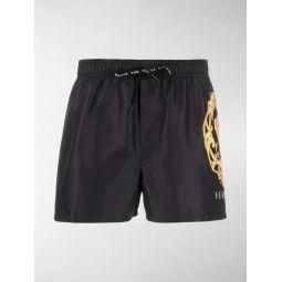 Versace Medusa Head swimming shorts black
