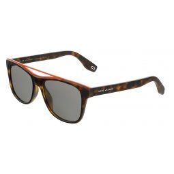 Marc Jacobs Matte Havana Rectangle MARC303S 0N9P Sunglasses