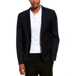 Valentino Wool & Mohair-Blend Blazer