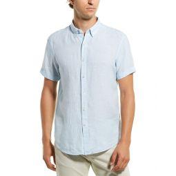 Theory Coppolo Linen Woven Shirt