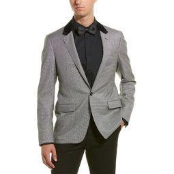 Lanvin D8 Slim Fit Wool-Blend Jacket