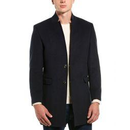 Ron Tomson Long Dressy Wool-Blend Overcoat
