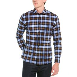 Burberry Small Scale Check Stretch Woven Shirt