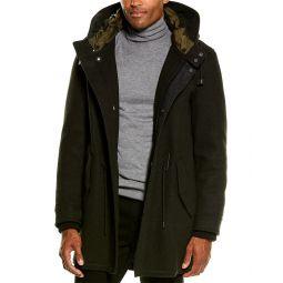 Cole Haan Grandseries Wool-Blend Coat
