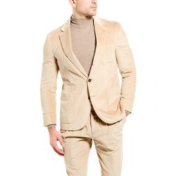 Brunello Cucinelli 2Pc Corduroy Suit With Pleated Pant