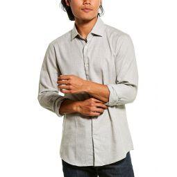 Reiss Zetterberg Melange Slim Fit Shirt