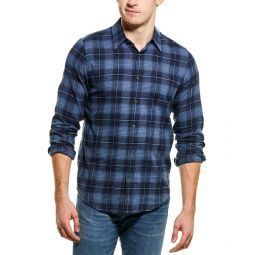 Theory Irving Flannel Woven Shirt