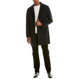 Cole Haan Grandseries Wool-Blend Topper Coat