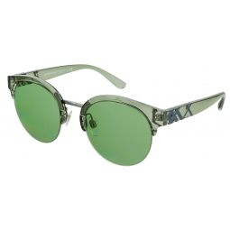 Burberry Clear Green Round 0BE4241 3673/2 Sunglasses