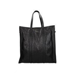 Balenciaga Shoulder Bags Men Leather Black