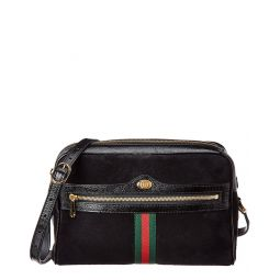 Gucci Ophidia Small Suede & Leather Crossbody