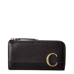 Chloe C Long Leather Wallet