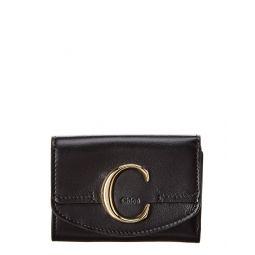 Chloe Mini Leather Trifold Wallet