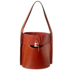 Chloe Aby Medium Leather Bucket Bag