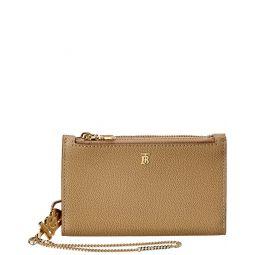 Burberry Monogram Motif Leather Wallet