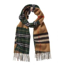 Burberry Vintage Check Cashmere & Wool-Blend Scarf