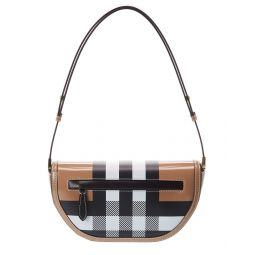 Burberry Olympia Small Leather Shoulder Bag