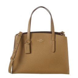 Coach Charlie Carryall Leather Tote