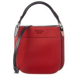 Prada Margit Small Leather Shoulder Bag