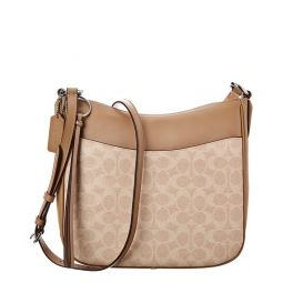 Coach Signature Chaise Leather & Canvas Crossbody