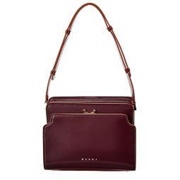 Marni Trunk Reverse Leather Shoulder Bag
