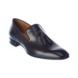 Christian Louboutin Dandelion Tassel Leather Loafer