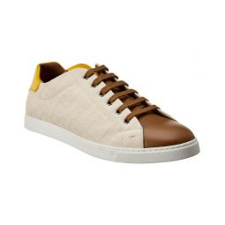 Fendi Canvas & Leather Sneaker