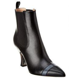 Fendi Leather Bootie