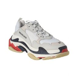 Balenciaga Triple S Leather Sneaker