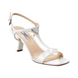 Prada Patent T-Strap Sandal