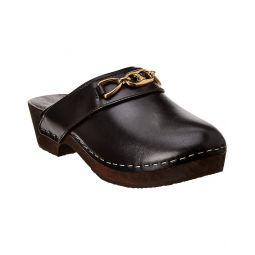 Celine Les Bois Leather Mule