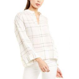 Vince Carpinteria Linen-Blend Shirt
