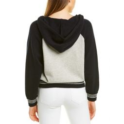 Mother The Rookie Zipped Wool & Cashmere-Blend Hoodie