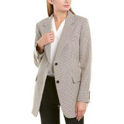 Theory Super Cinch Wool-Blend Blazer