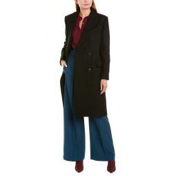 Theory Genesis Wool-Blend Coat