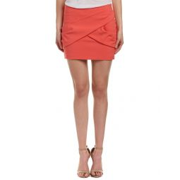 Maje Draped Mini Skirt