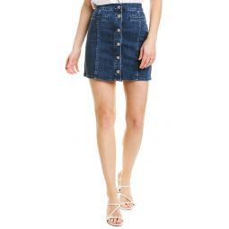 Madewell Stretch Denim Straight Mini Skirt