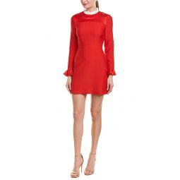Sandro Ruffle A-Line Dress