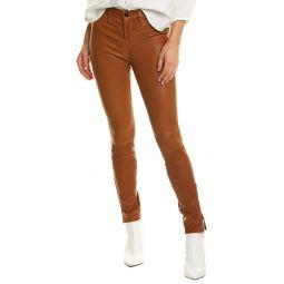 J Brand L8001 Eclair Leather Mid-Rise Skinny Leg Jean