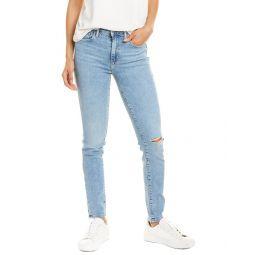 Levis 721 High-Rise Light Wash Skinny Leg Jean