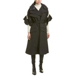 Moncler Ruth Twill Coat