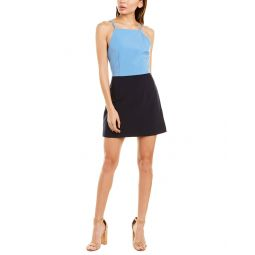 French Connection Whisper Colorblocked Sheath Dress