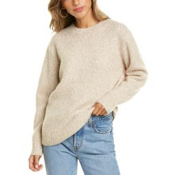 Vince Textured Wool, Alpaca, & Silk-Blend Sweater