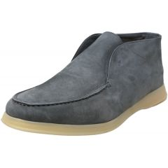 Andrea Ventura Firenze Mens Aquariva Cashmere Loafer Ankle-High Leather Loafers & Slip-On
