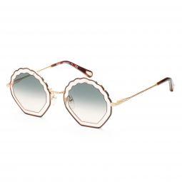 Chloe Womens CE147S-256 CE 56 mm Havana Rose Sunglasses