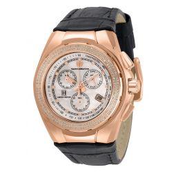 TechnoMarine 40mm Ltd Ed Quartz Chrono 0.71ctw Diamond Watch