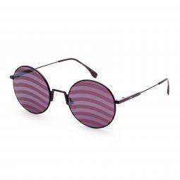 Fendi FF 0248/S-B3V-53XL Sunglasses Violet Waves Round 53mm