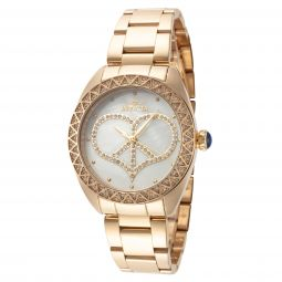 Invicta Womens Angel IN-31044 35mm Mother-of-Pearl Stainless Steel Watch