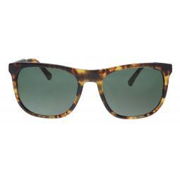 Emporio Armani Matte Blonde Havana Rectangle EA4099 567771 Sunglasses